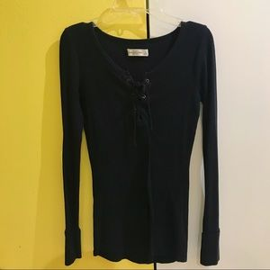 Abercrombie & Fitch Black Blouse